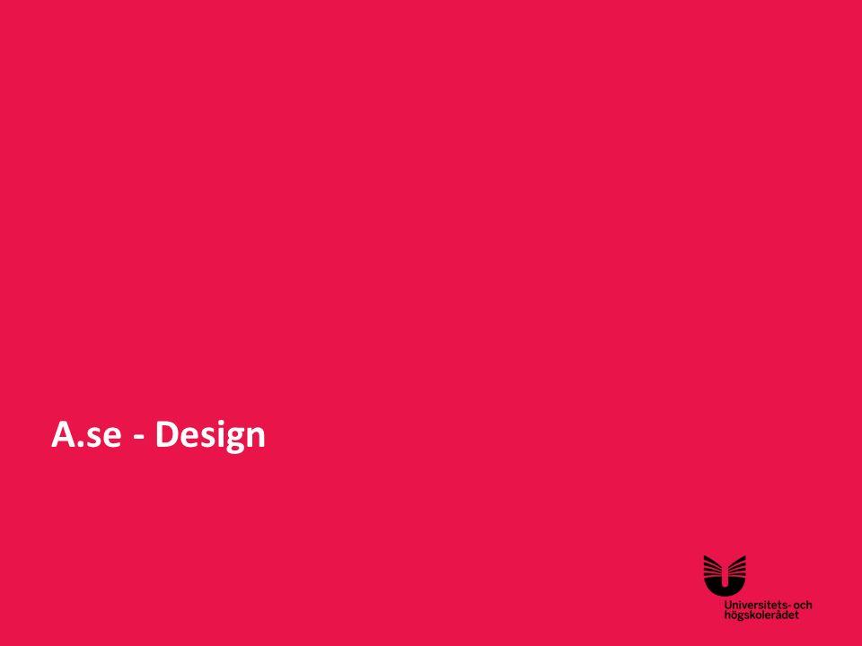Sv A.se - Design