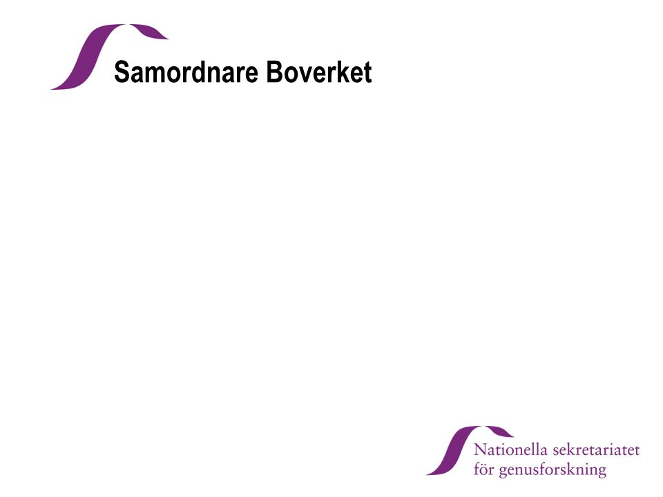 Samordnare Boverket