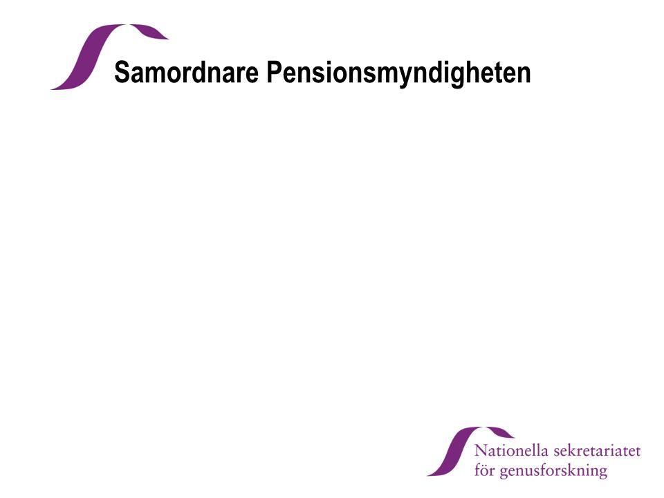 Samordnare Pensionsmyndigheten