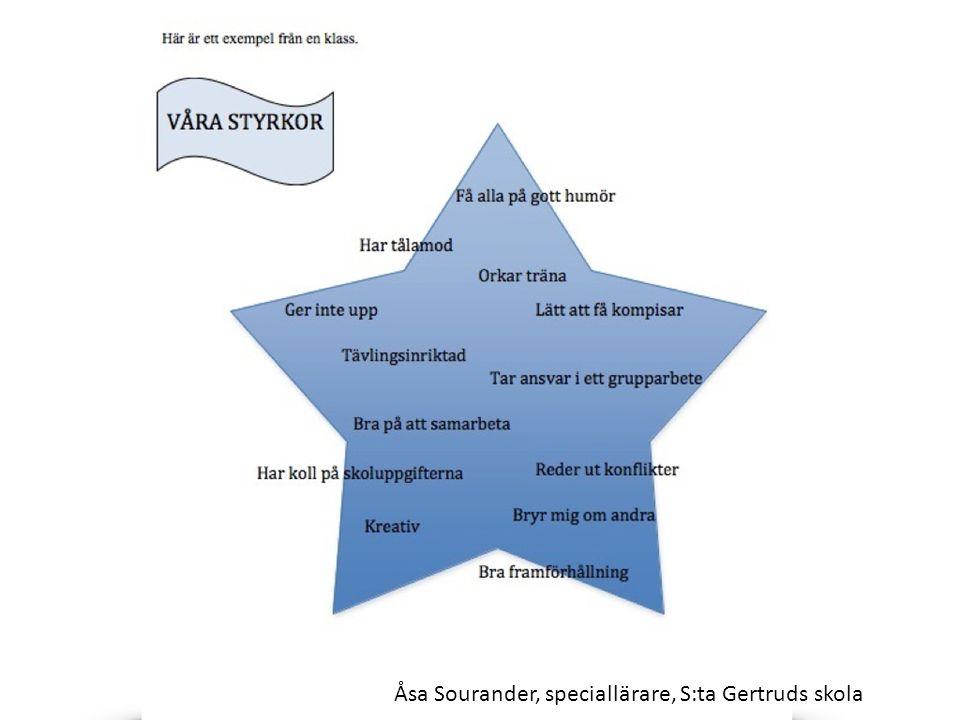 Åsa Sourander, speciallärare, S:ta Gertruds skola