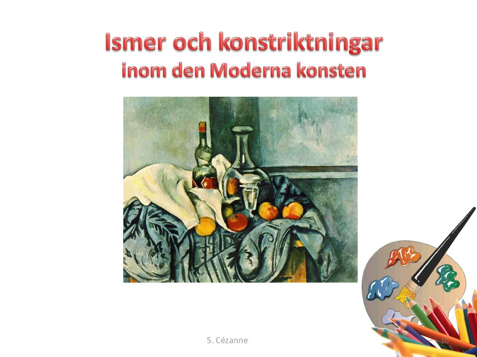 10 5. Cézanne