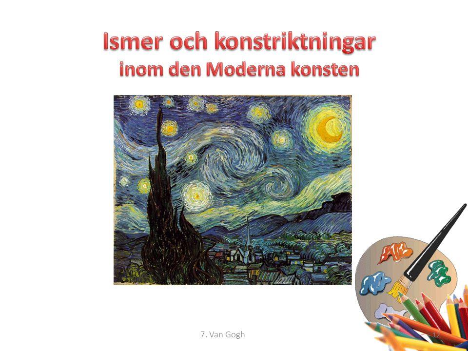 12 7. Van Gogh