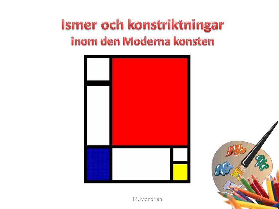 19 14. Mondrian