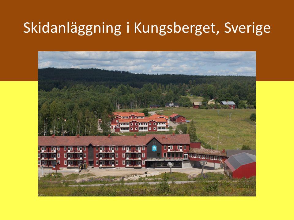 Skidanläggning i Kungsberget, Sverige