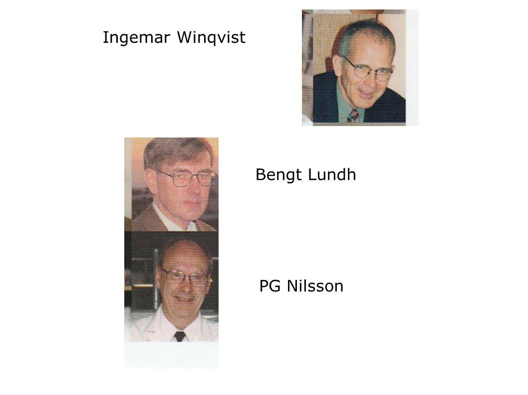 Ingemar Winqvist Bengt Lundh PG Nilsson