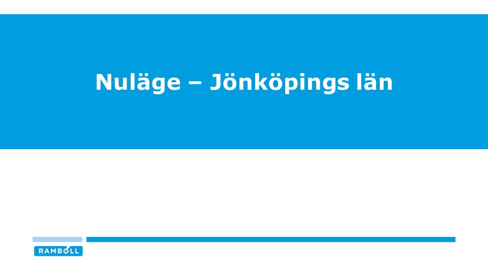 Nuläge – Jönköpings län