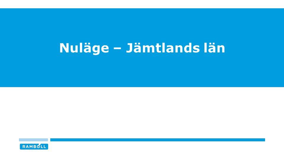 Nuläge – Jämtlands län