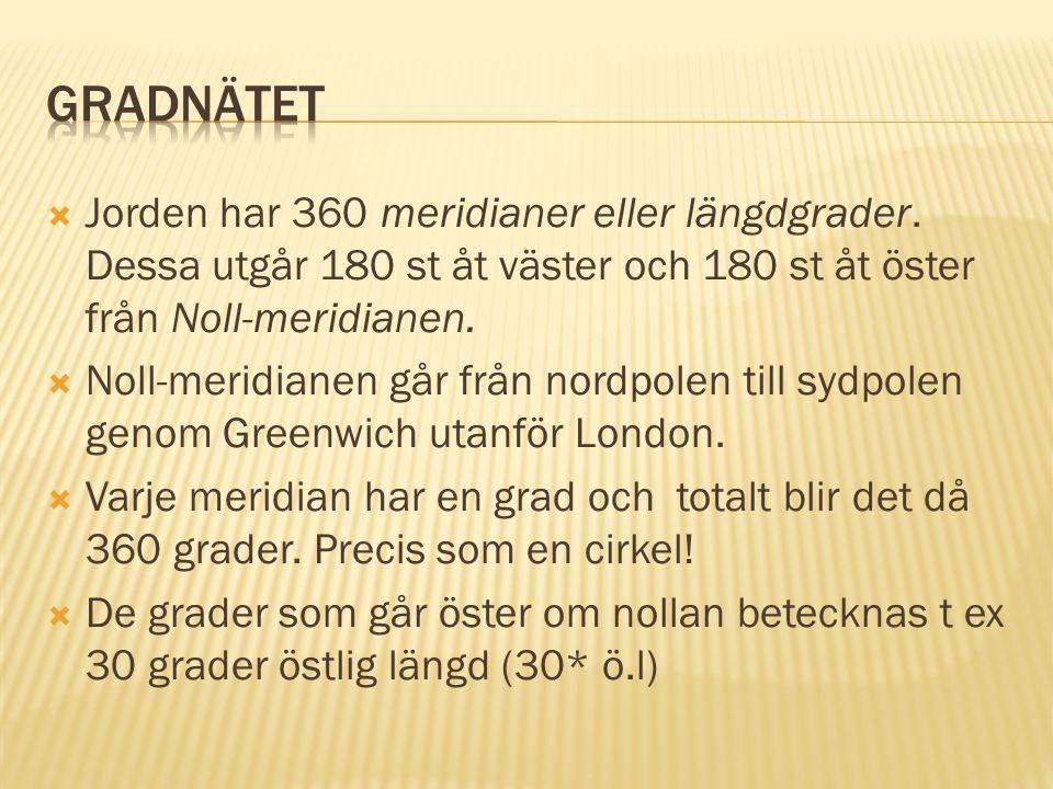  I Sverige har vi något som kallas rikets nät.Numera SWEREF 99.