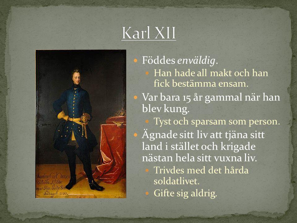 Danmark, Polen och Ryssland anföll Sverige år 1700.