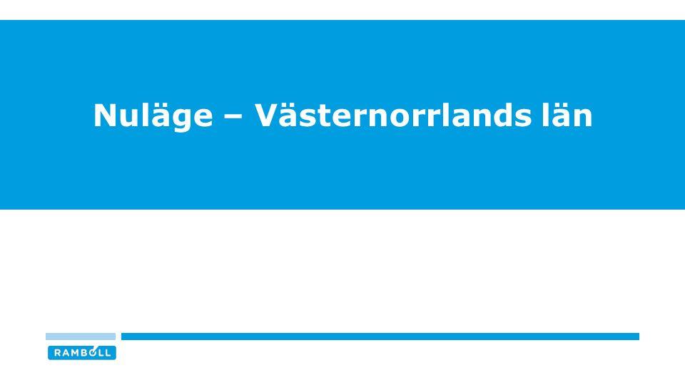Nuläge – Västernorrlands län