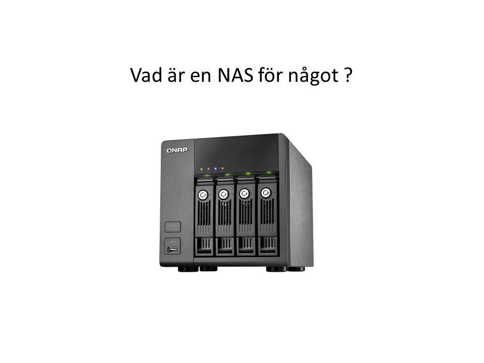 Vad är en NAS för något