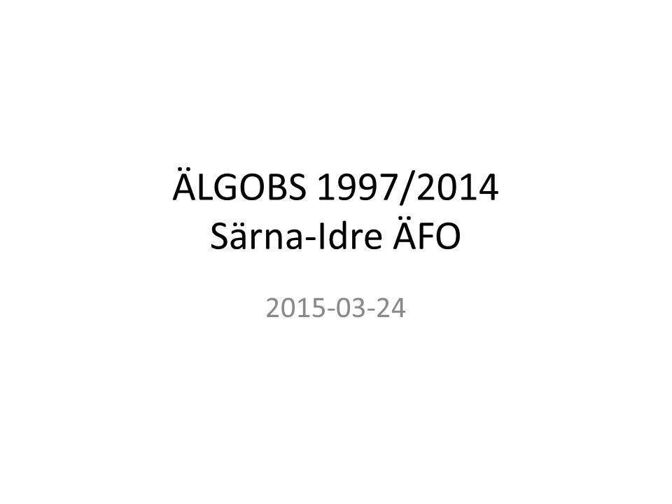 ÄLGOBS 1997/2014 Särna-Idre ÄFO 2015-03-24