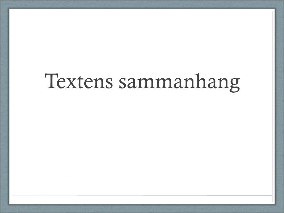 Textens sammanhang