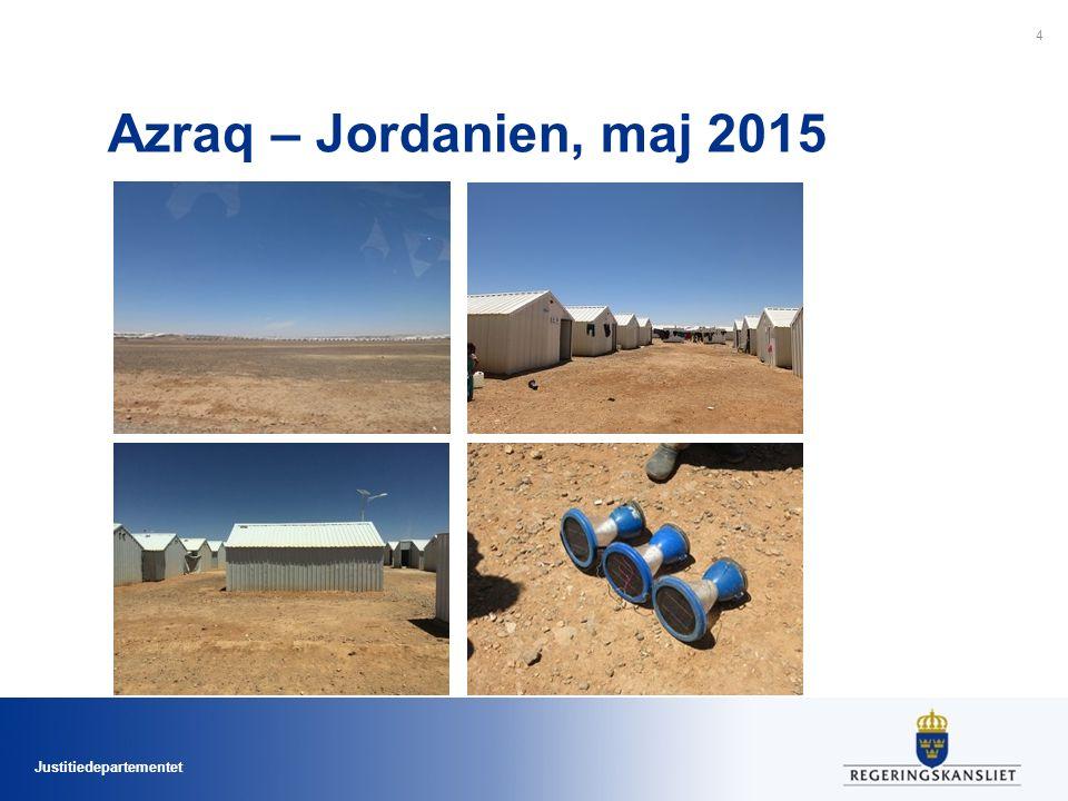 Justitiedepartementet Azraq – Jordanien, maj 2015 4