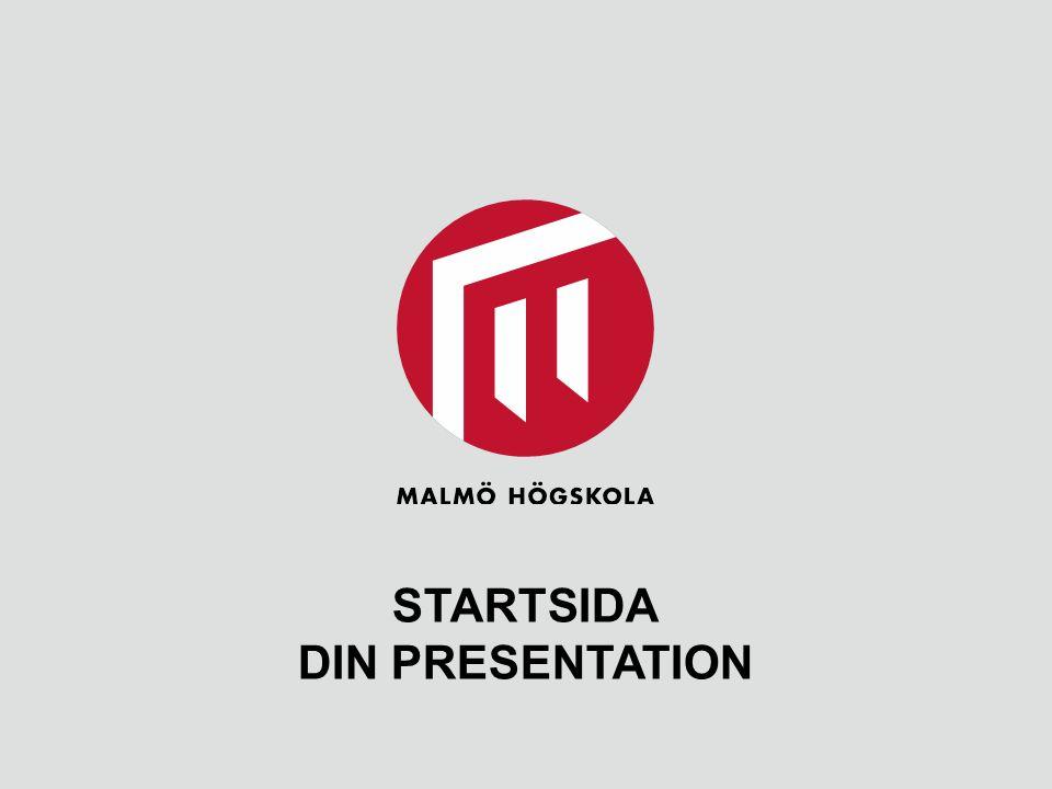 STARTSIDA DIN PRESENTATION