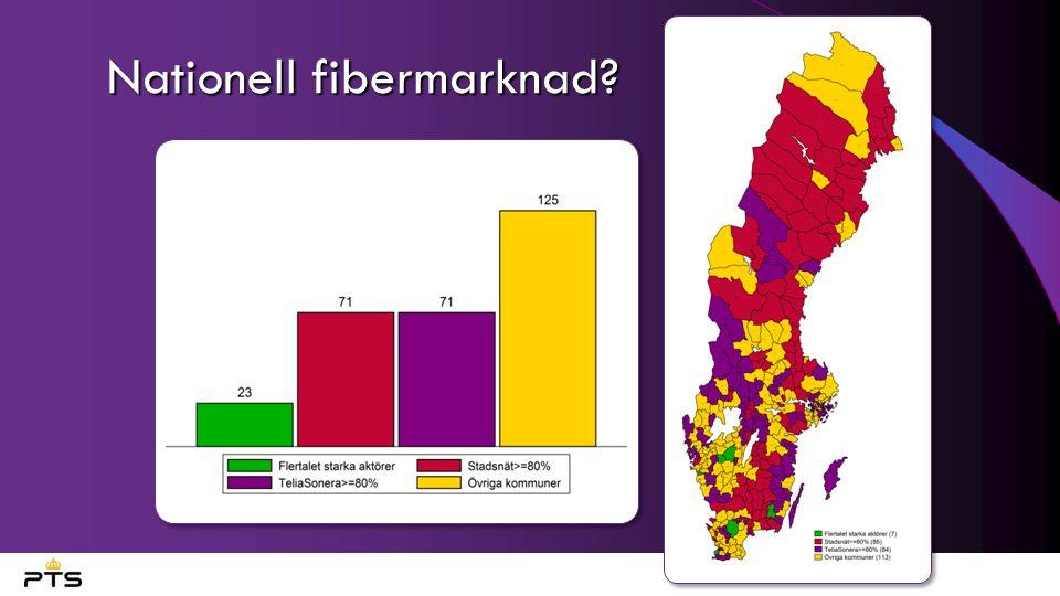 Nationell fibermarknad