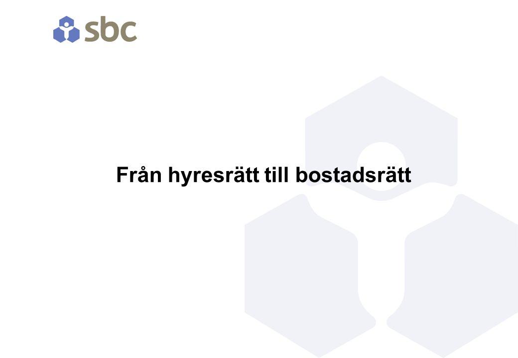 Förberedelse Registrera förening Göra intresseanmälan till Svenska Bostäder