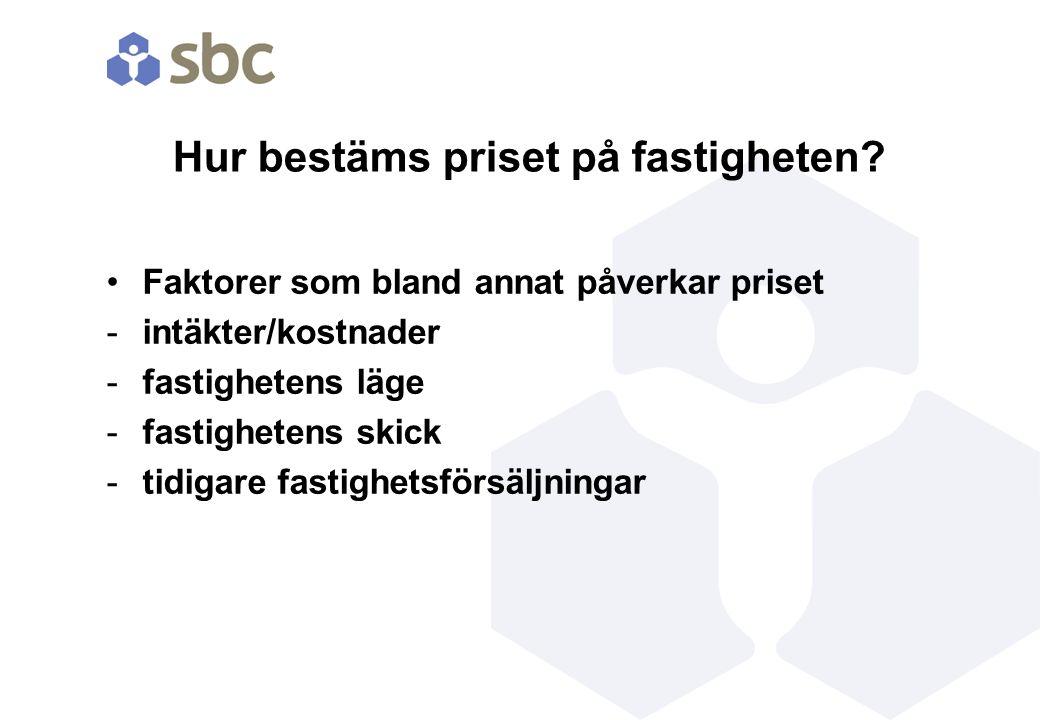 Svenska Bostäders styrelse beslutar Priset ska ligga nära värderingen