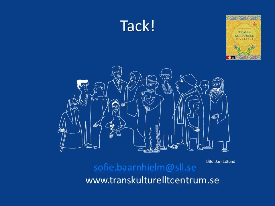 Tack! sofie.baarnhielm@sll.se www.transkulturelltcentrum.se Bild: Jan Edlund