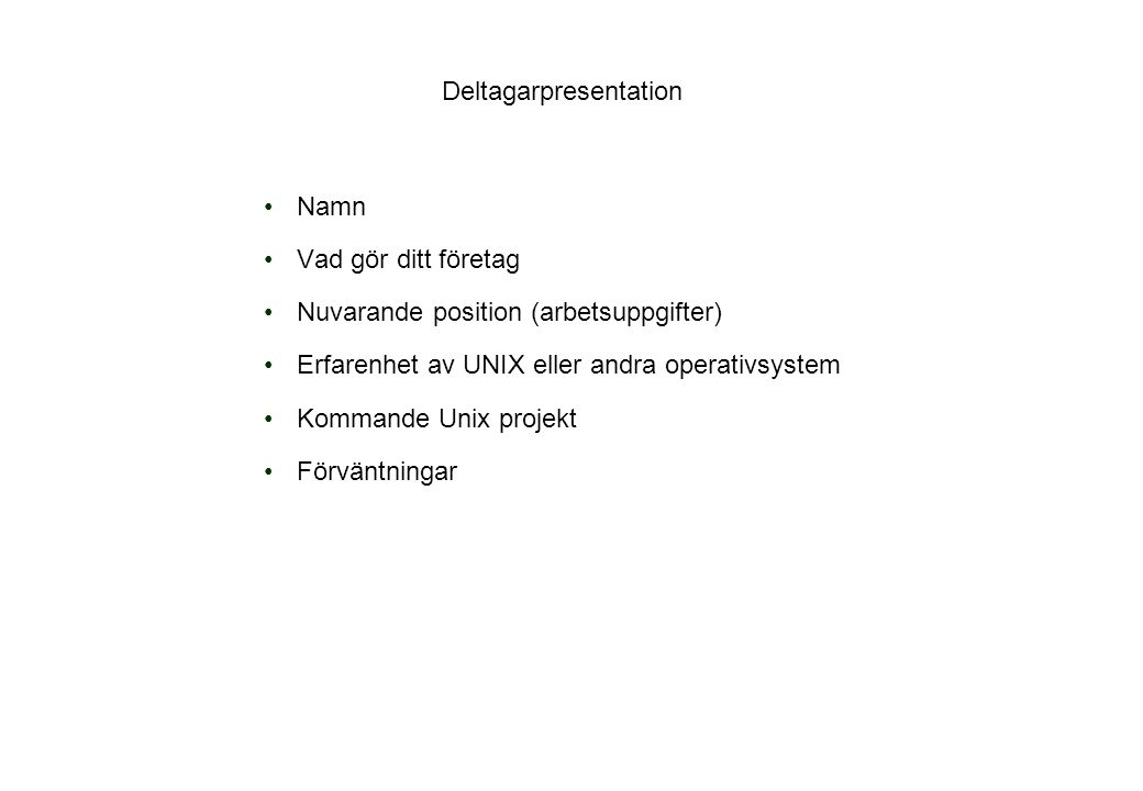 Fil jämförelse Kommandot diff visar skillnaderna per rad mellan två textfiler.Kommandot diff visar skillnaderna per rad mellan två textfiler.