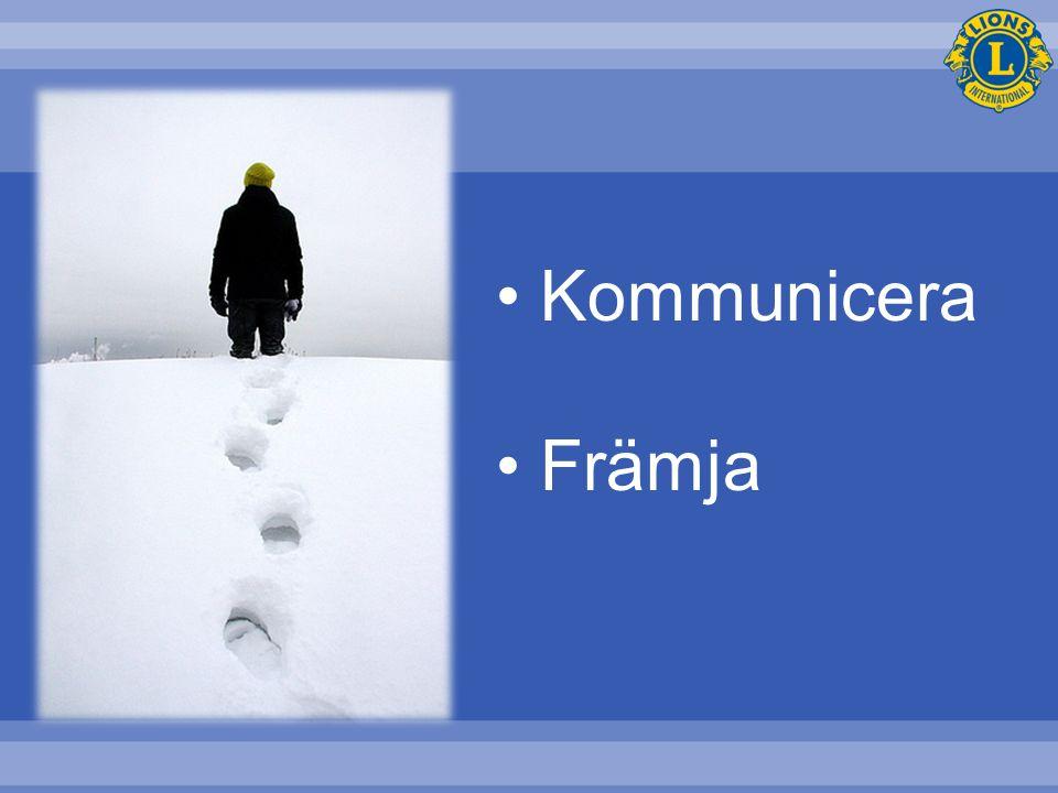 Kommunicera Främja