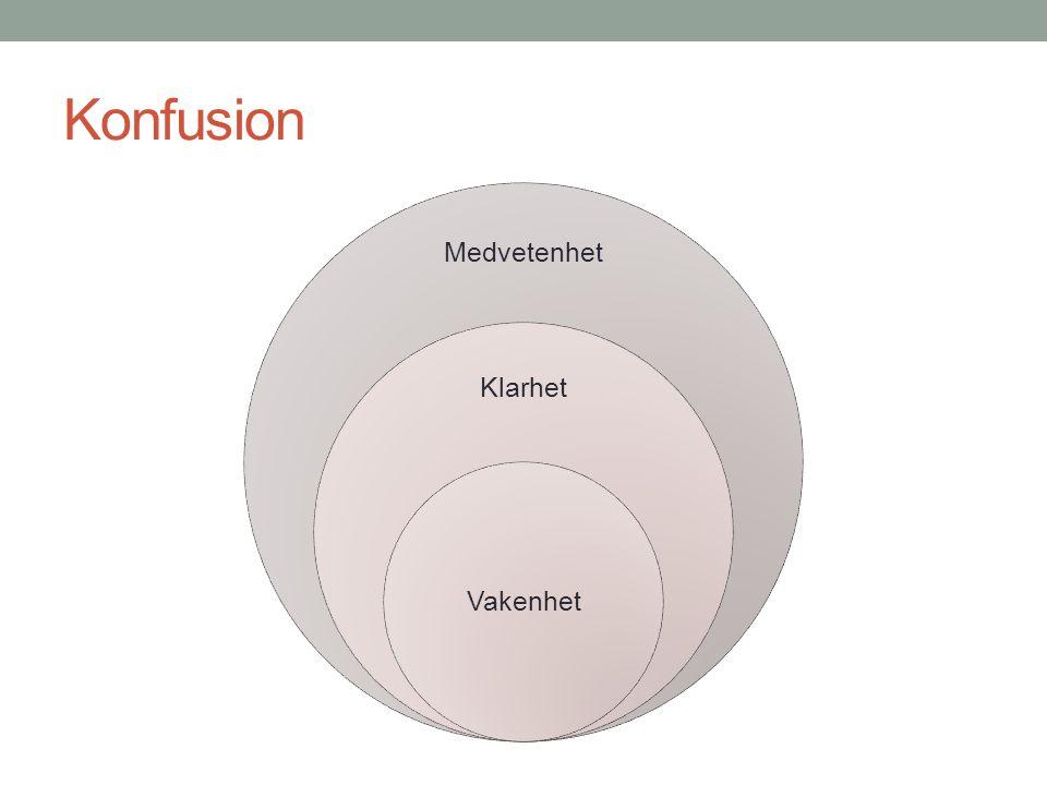 Konfusion Vad kännetecknar konfusion.Grundläggande fysiopatologisk mekanism.