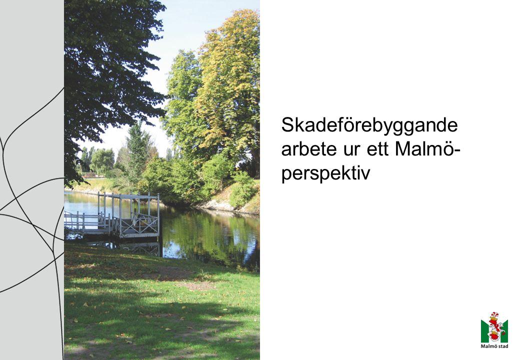 Skadeförebyggande arbete ur ett Malmö- perspektiv