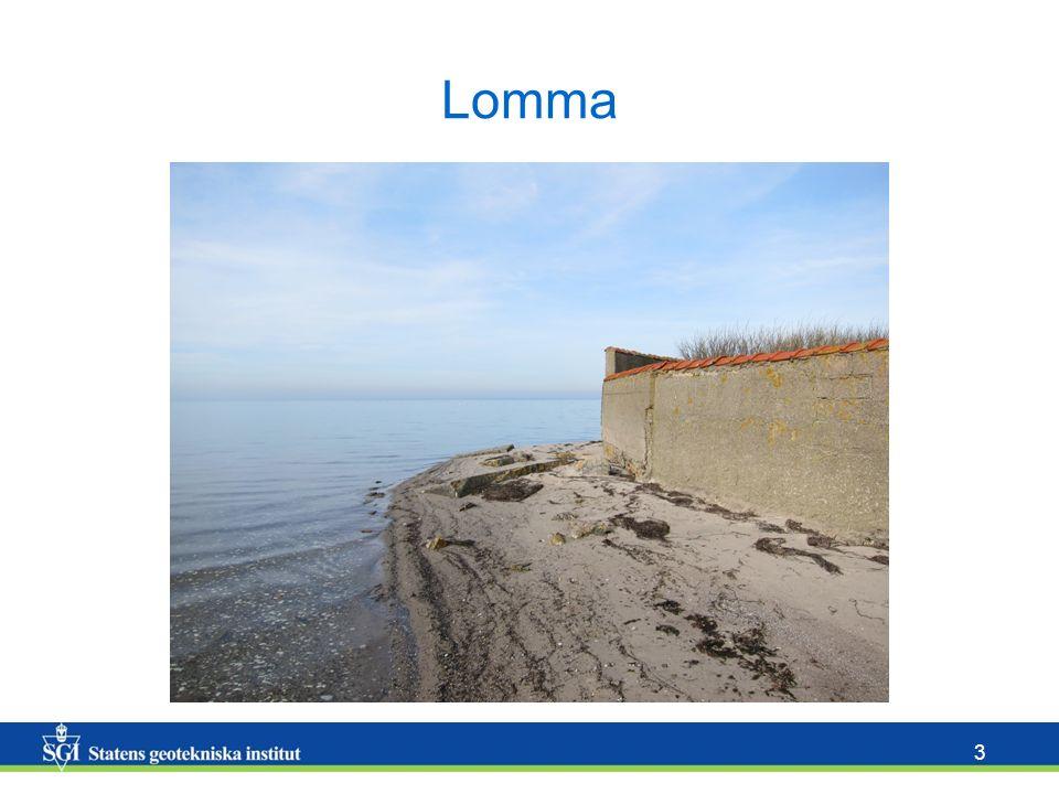 14 Sårbarhetskarta Rött = sårbart Grönt = ej sårbart Erosionsskydd Erosion