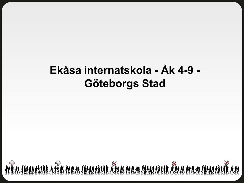 Ekåsa internatskola - Åk 4-9 - Göteborgs Stad