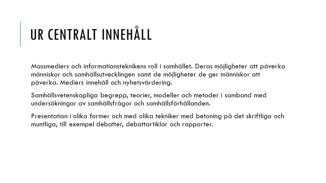 GRUPPINDELNING 1.Sajad, Gabriella, Elin H och Hanna – Dagens Nyheter v.