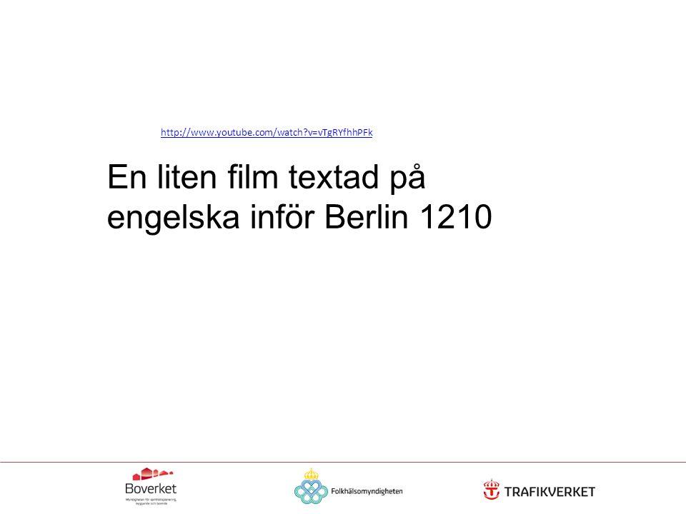 http://www.youtube.com/watch?v=vTgRYfhhPFk En liten film textad på engelska inför Berlin 1210