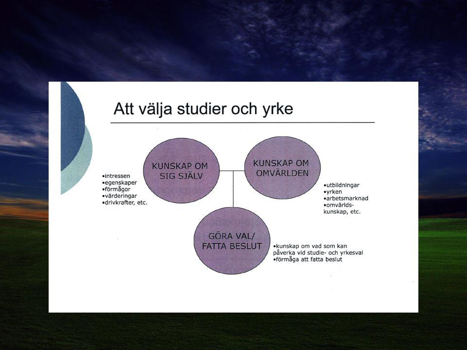 Behörighet till gymnasiet Lägst betyget E i: Svenska/svenska som andra språk Engelska Matematik + 5 ämnen för YP + 9 ämnen för HP: – Inkl SO-ämnena för EK, HU och SA – Inkl NO-ämnena för NA och TE