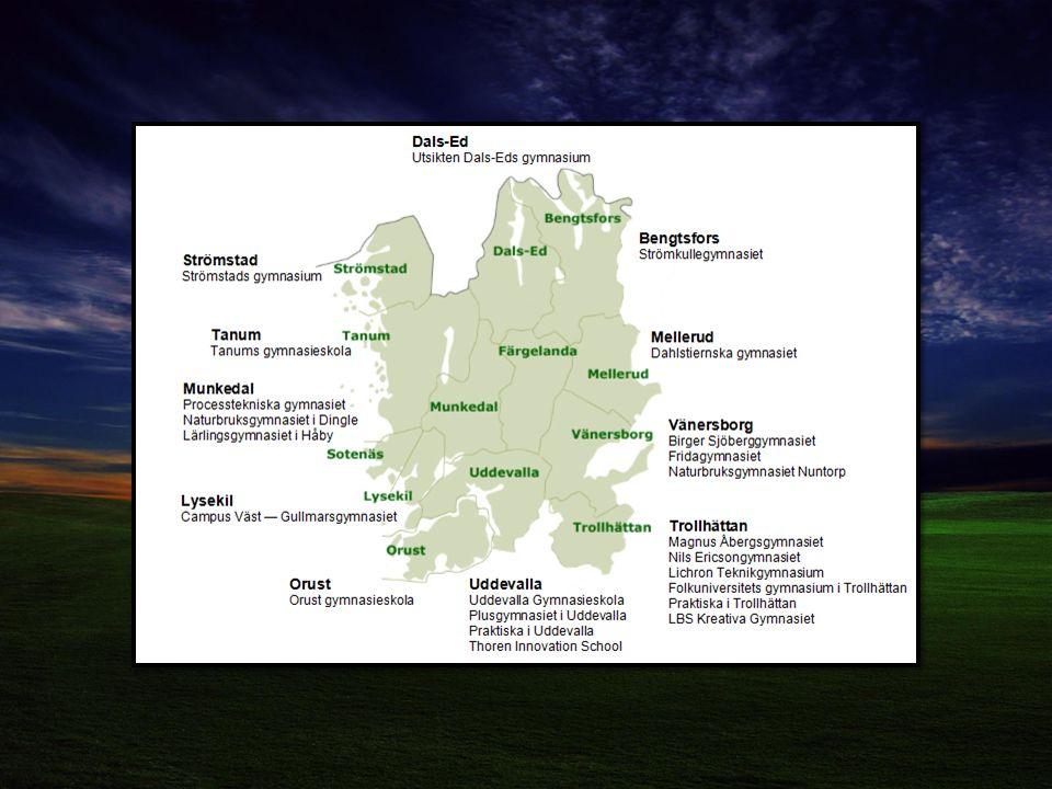 Uddevalla gymnasieskola 17 av de nationella programmen (ej HU) Specialinriktningar ; Spint, NA/mu, NA/bild, ES inredning, ES modedesign och NA/Nordens Ark Introduktionsprogrammen GLU-gymnasial lärlingsutbildning (alla YP) Gymnasiesärskola