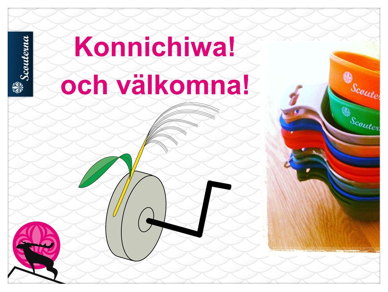Konnichiwa! och välkomna!
