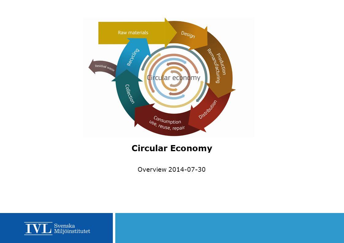 Circular Economy Overview 2014-07-30