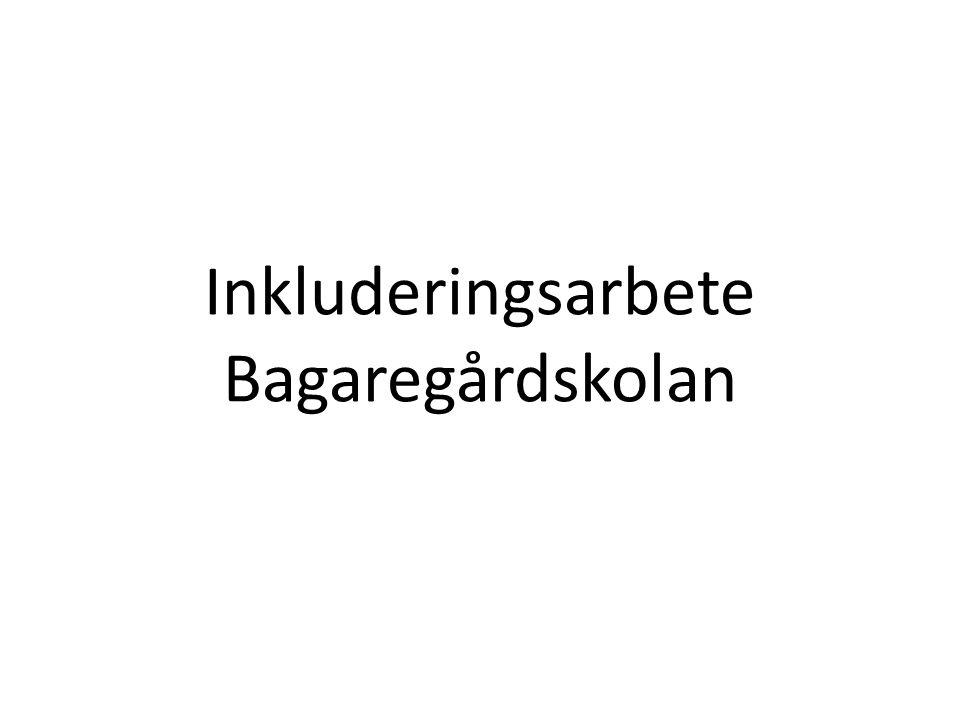 Inkluderingsarbete Bagaregårdskolan
