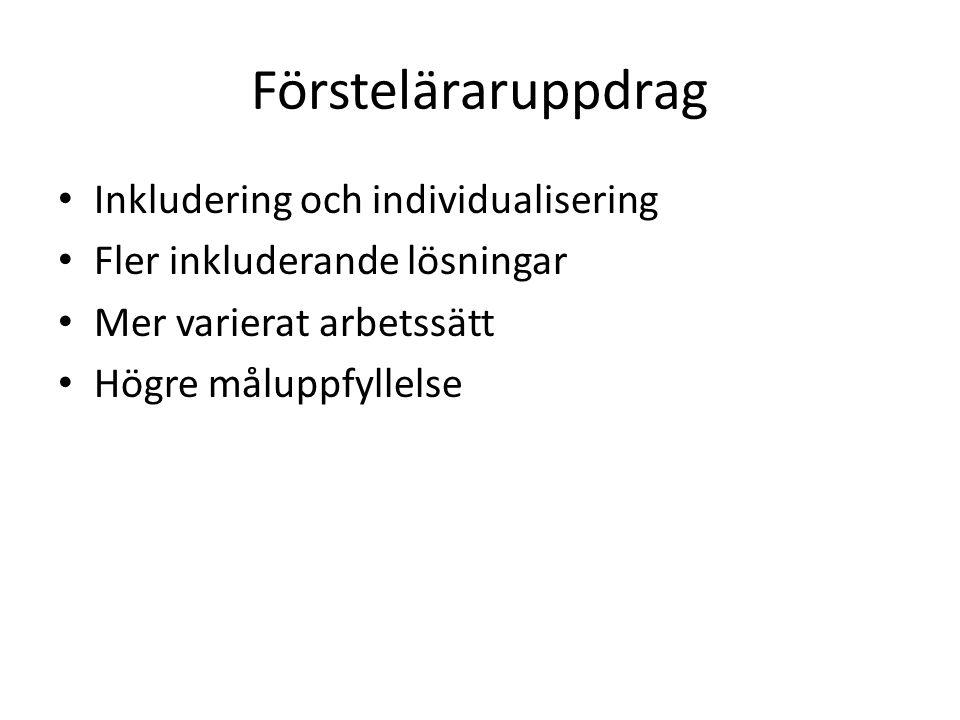 Januari 2015 Begreppet inkludering För oss på Bagaregårdsskolan? Framgångsfaktorer Forskning