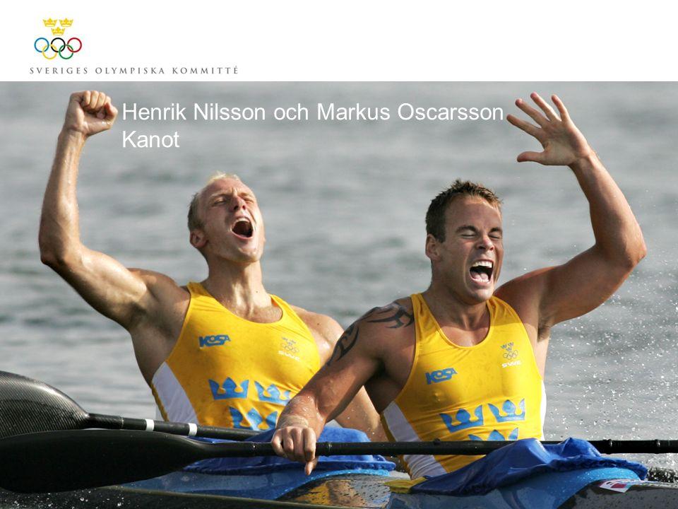 Henrik Nilsson och Markus Oscarsson Kanot