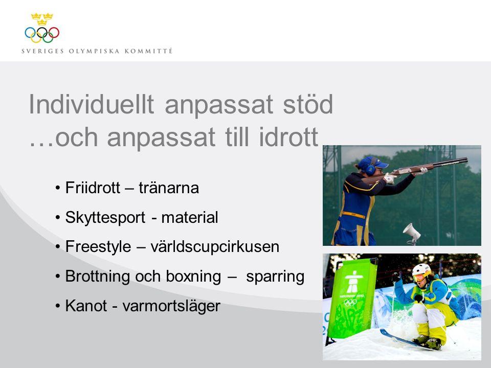Några av idrottarna som har kunnat satsa tack vare stödet från SOK:s Topp- & Talangprogram: