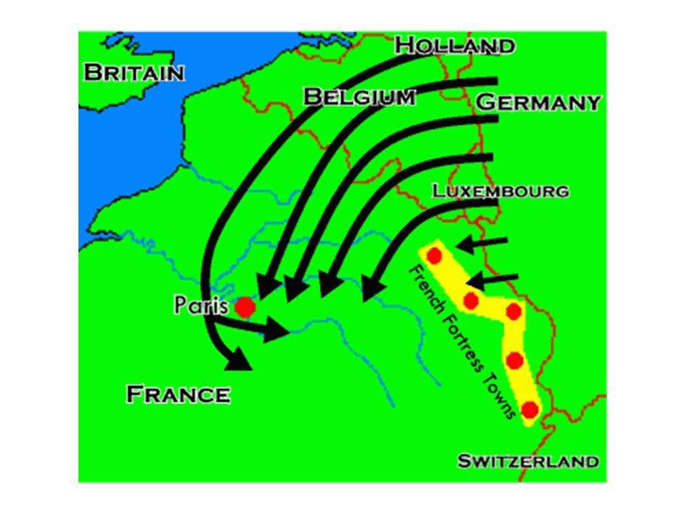 Men Moltke dy Går rakt mot Paris OCH en ganska stor styrka mot franska ställningar.