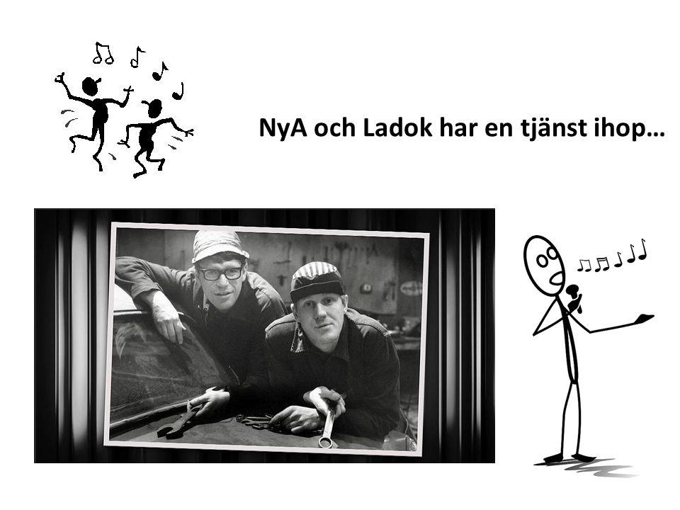 NyA och Ladok har en tjänst ihop…
