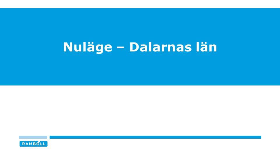 Nuläge – Dalarnas län