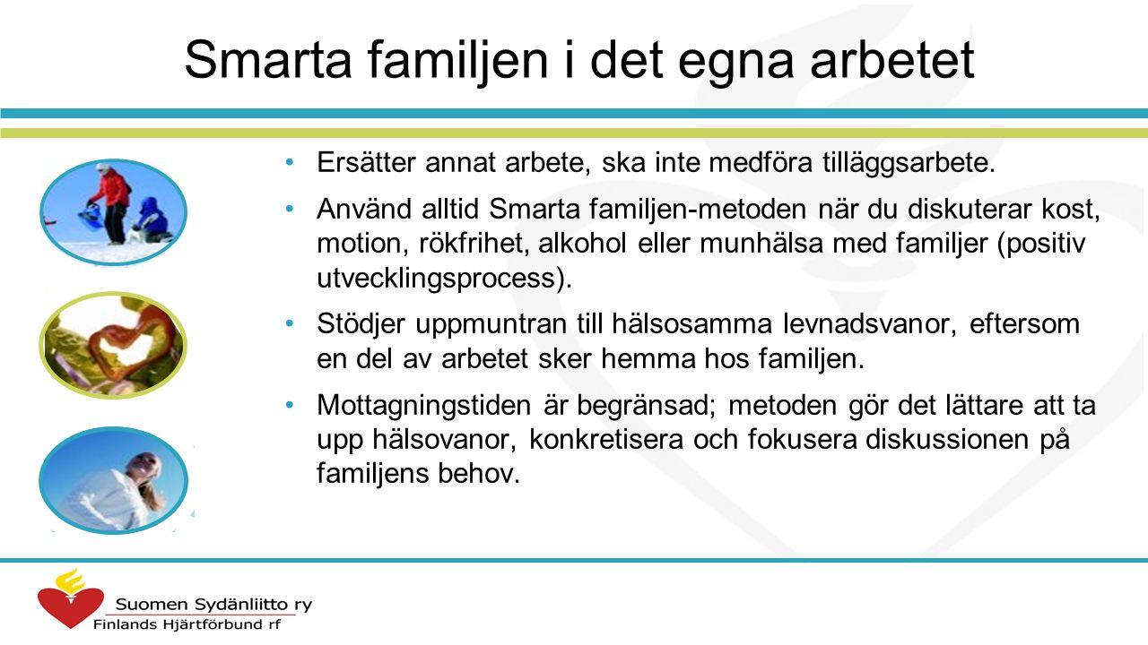 Hur kan man använda Smarta familjen -metoden i arbetet med familjer.