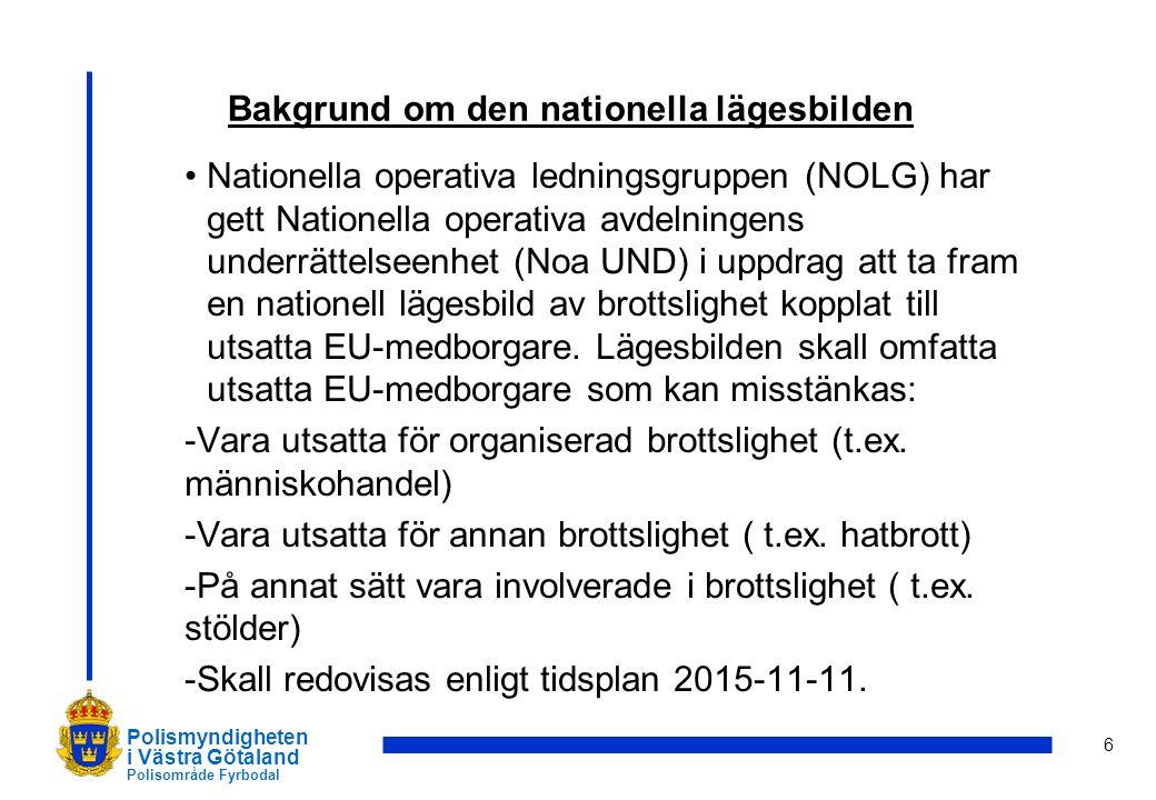 7 Polismyndigheten i Västra Götaland Polisområde Fyrbodal Frågor?