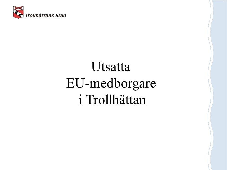 Utsatta EU-medborgare i Trollhättan