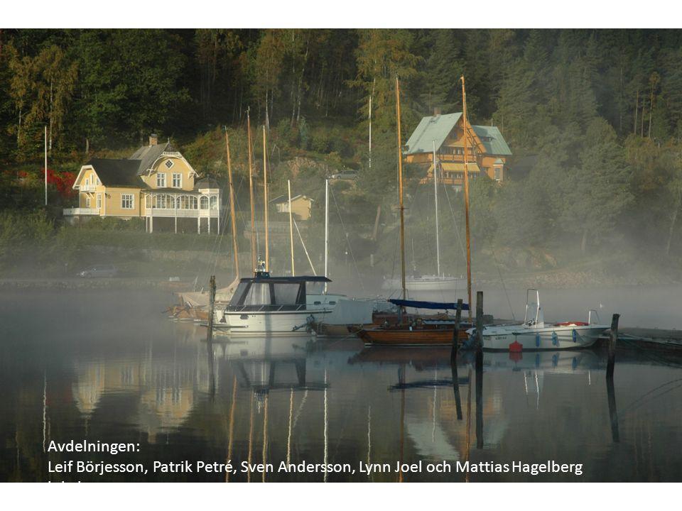 Avdelningen: Leif Börjesson, Patrik Petré, Sven Andersson, Lynn Joel och Mattias Hagelberg lokalstrateg