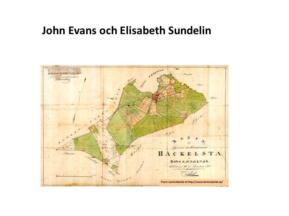 Sv John Evans och Elisabeth Sundelin