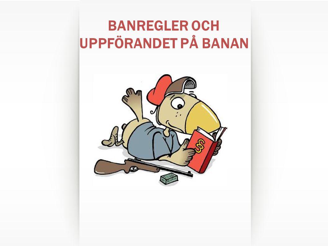 BANREGLER OCH UPPFÖRANDET PÅ BANAN