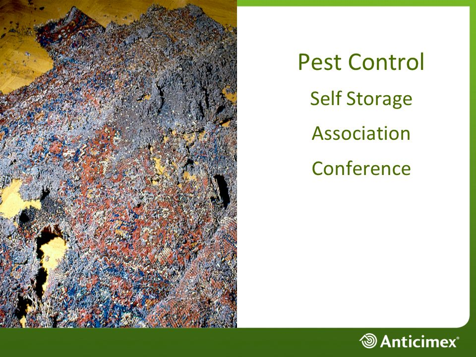 Pest Control Self Storage Association Conference