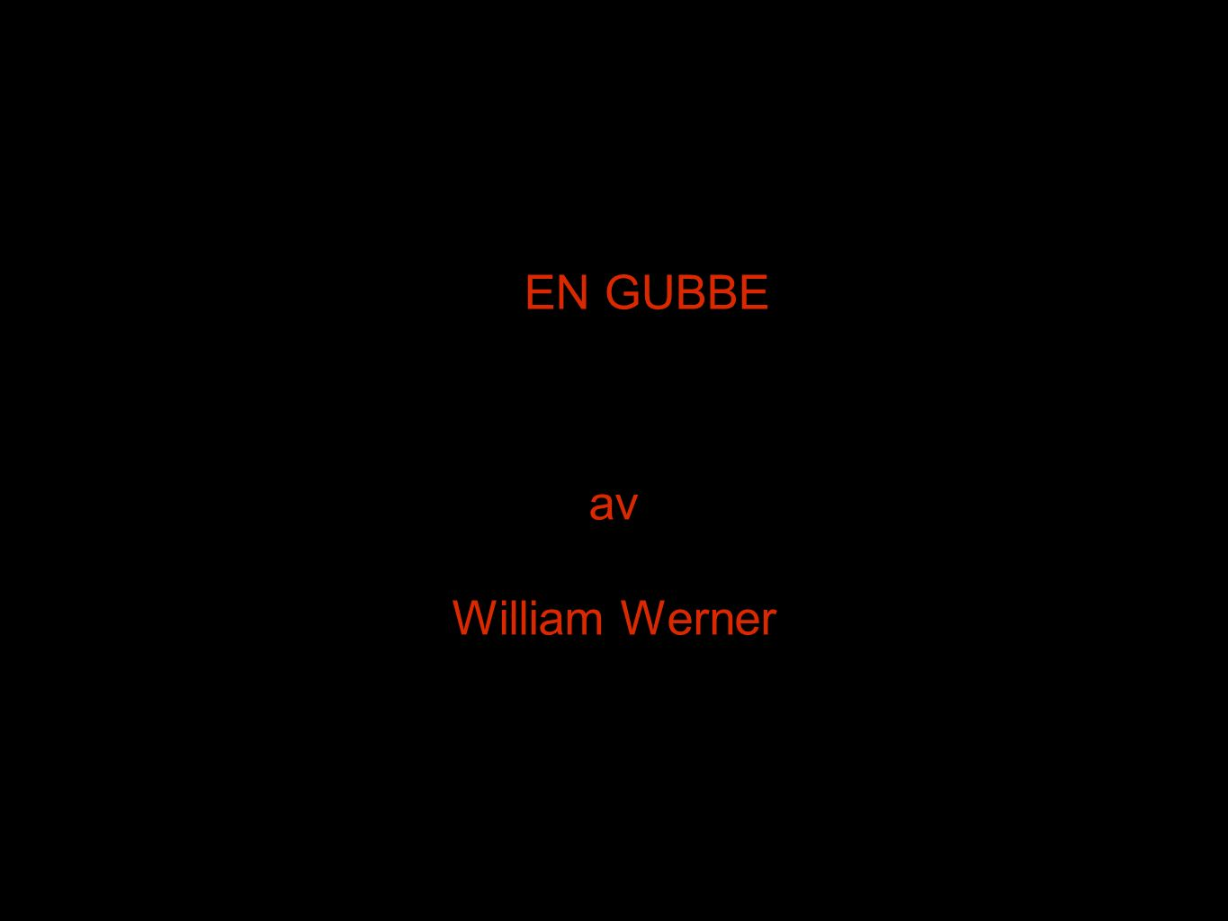 EN GUBBE av William Werner